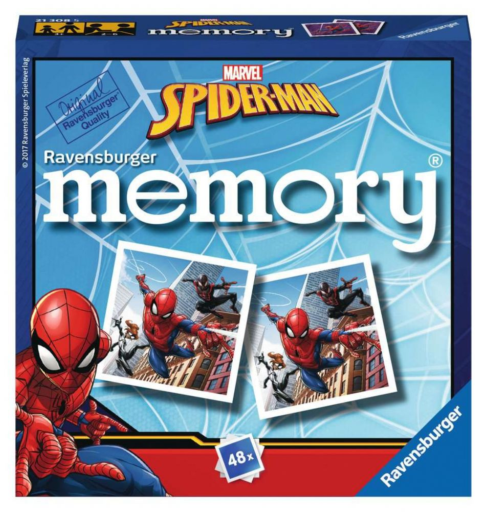 RAVENSBURGER GAME  Spider-Man mini memory®